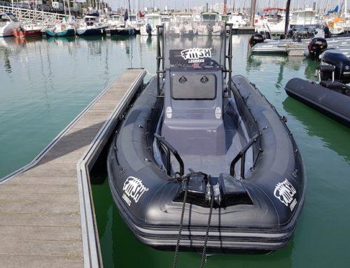 Zodiac développe une gamme d'équipements pour la pêche sportive